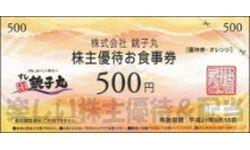 銚子丸の株主優待