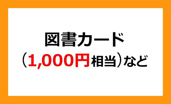 新晃工業の株主優待