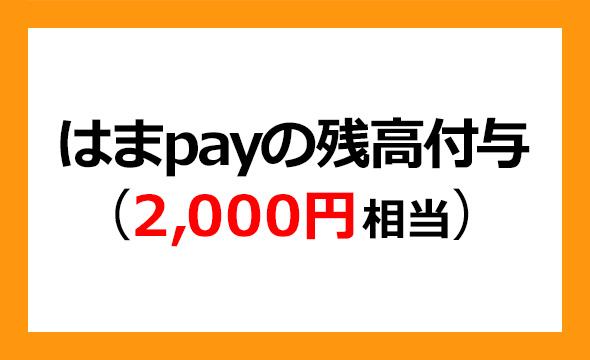 コンコルディア・フィナンシャルグループの株主優待
